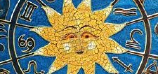 El Sol en los signos del zodiaco