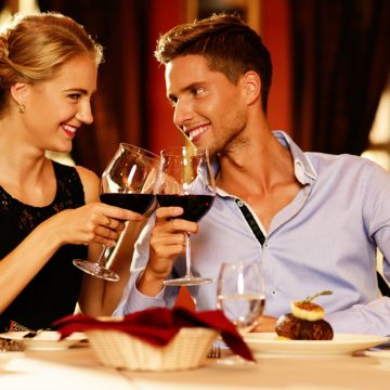 Una cena romántica para Capricornio