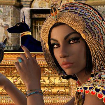 Las 22 laminas del tarot egipcio